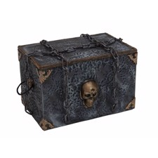 Halloween Pirate Box. 32X48X32 Cm.