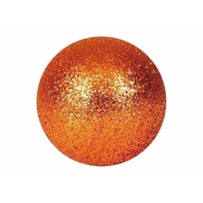 Deco Ball 3.5 Cm.. copper. glitter 48x