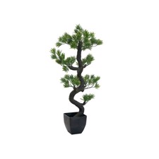 Pine bonsai, artificial plant, 95cm